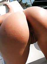 Cute amateur brazillian babe gets banged on the beach